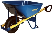 Where to rent 6CUFT Wheelbarrow Flat Free, Heavy Duty in Cleveland OH