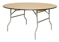 Where to rent TABLE, ROUND, 60 , WOOD in Cleveland OH
