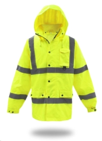 Where to rent High-Vis. Poly Rain Jacket, M in Cleveland OH