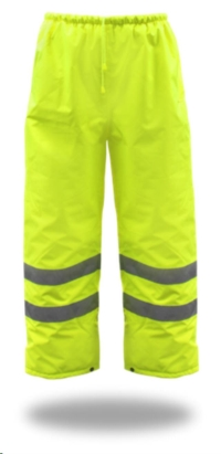 Where to rent High-Vis. Poly Rain Pants Insulated, 3XL in Cleveland OH