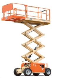Rental store for SCISSOR LIFT, OUTDOOR 32 REACH GAS LP in Cleveland OH