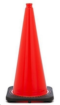 Rental store for 28 ORG PVC Traffic Cone Black Base in Cleveland OH