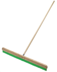 Rental store for 48  Green Nylex® Soft Finish Broom w HDL in Cleveland OH