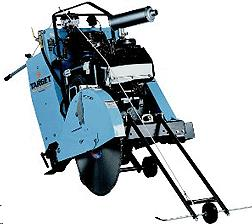 Where to find CONCRETE FLOOR SAW, DIESEL, 35HP in Cleveland