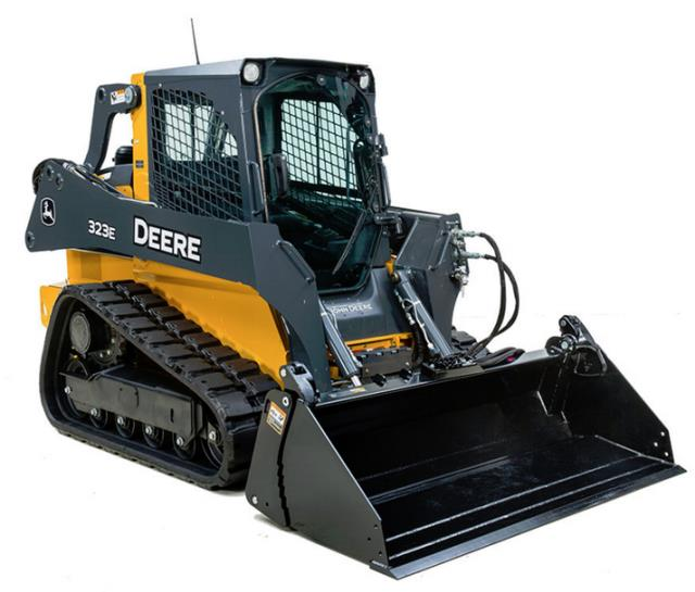 Where to find SKID STEER, TRACK, 323E, DEERE in Cleveland