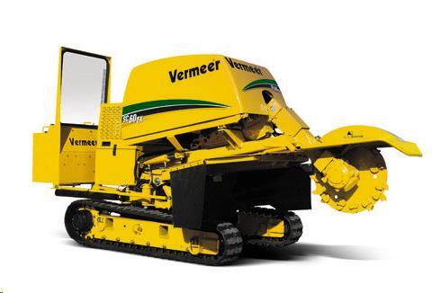 Stump Grinder Tracked Vermeer Sc60 Rentals Cleveland Oh