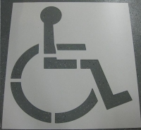 Where to rent HANDICAP STENCIL in Cleveland OH