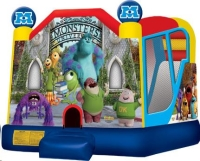 Where to rent MONSTERS BOUNCE HOUSE   SLIDE COMBO in Cleveland OH