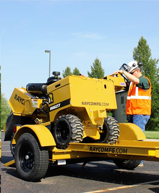 Where to find TRAILER, STUMP GRINDER, 2500 GVW in Cleveland