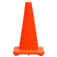 Where to rent 18 ORG PVC Traffic Cone in Cleveland OH