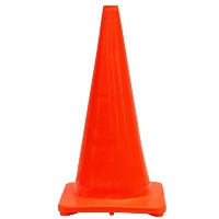 Where to rent 28 ORG PVC Traffic Cone in Cleveland OH