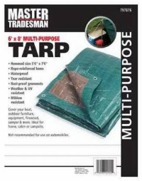 Where to rent MT6x8GRN BRN Tarp Cover in Cleveland OH