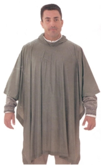 Where to rent 1SZ Olive PVC Poncho in Cleveland OH