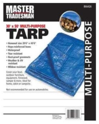 Where to rent MT 30x50 BLU Poly Tarp in Cleveland OH