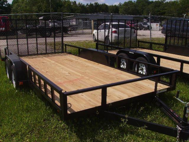 Where to find TRAILER, 7X16, 7000  GVWR in Cleveland