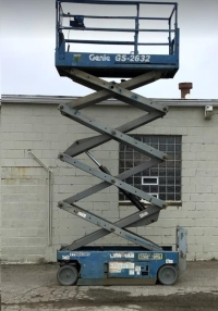Used Equipment Sales SCISSOR LIFT, 32  REACH, INDOOR in Cleveland OH