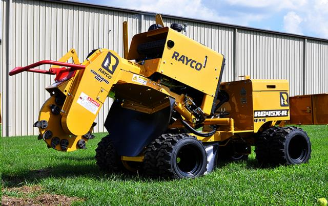 Where to find STUMP GRINDER, 45HP, RAYCO RG45X, DIESEL in Cleveland