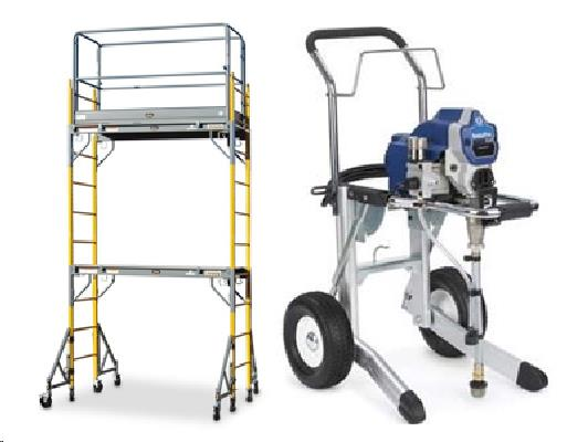 Rent PAINTING EQUIPMENT